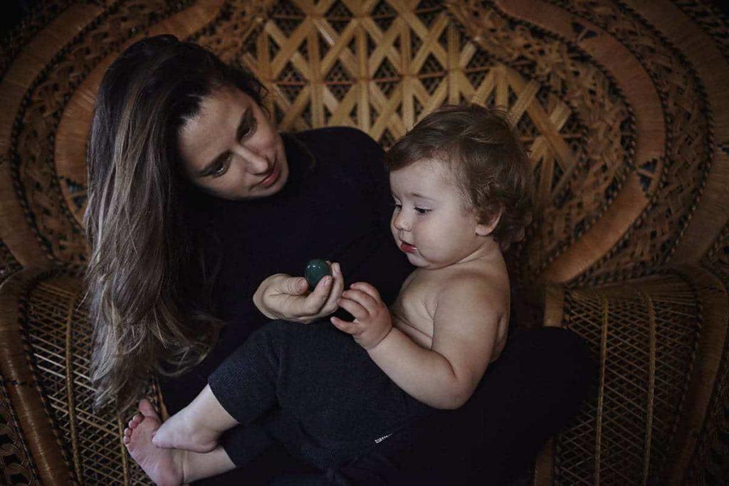 Foto de niño y Eliza