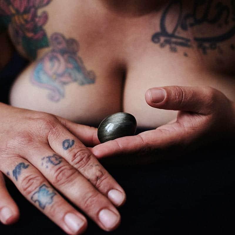 Obsidiana Dorada