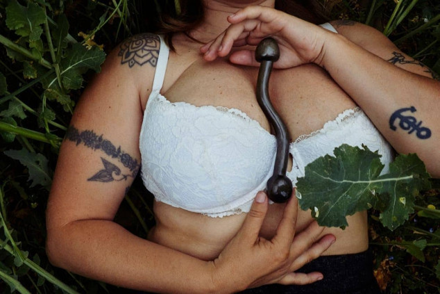 Eliza Masajeador curvo