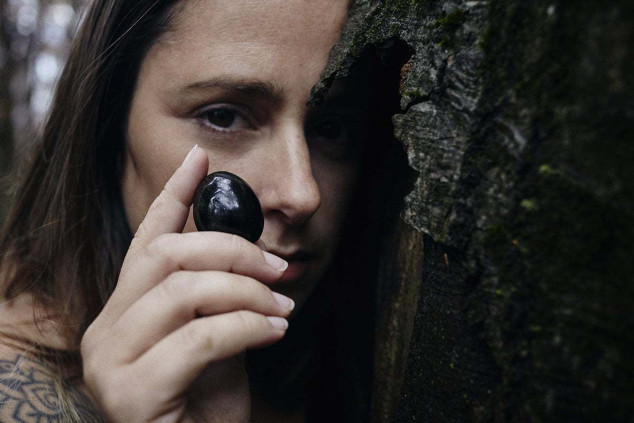 Eliza con Obsidiana